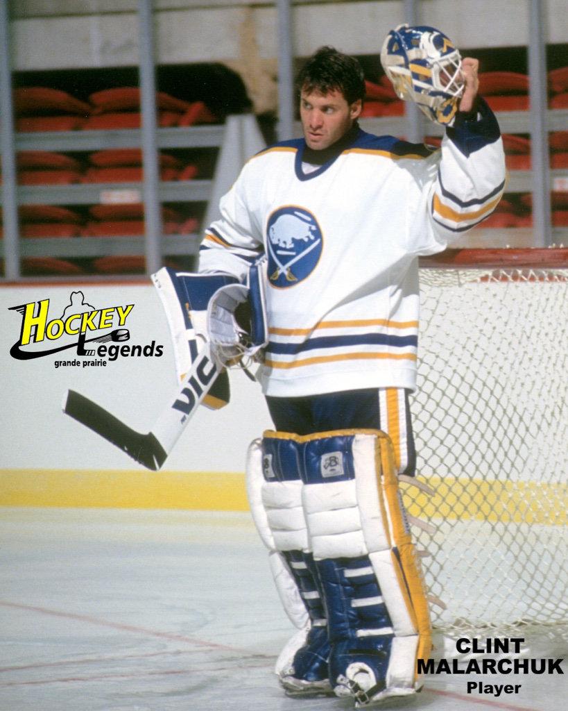Grande Prairie Hockey Legends Players Clint Malarchuk