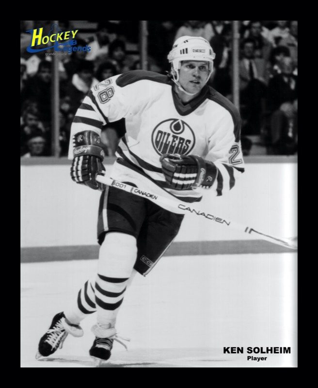 Grande Prairie Hockey Legends Players Ken Solheim